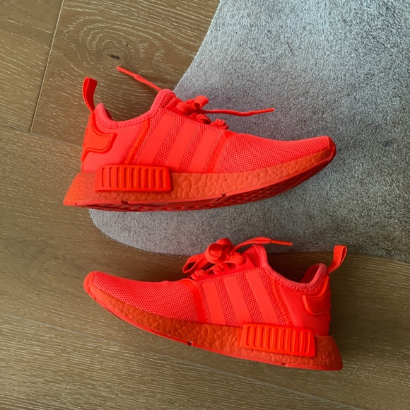 Adidas Shoes Nmd R1 Solar Red Rare Poshmark